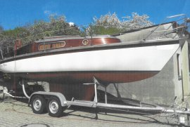 Segelboot Biga24, gepflegt, Baujahr 1978, € 22.500,00